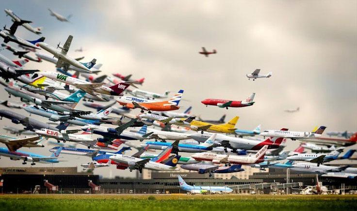 شانزده فروند هواپیمای ایرباس در راه ورود به ایران قرار دارند
