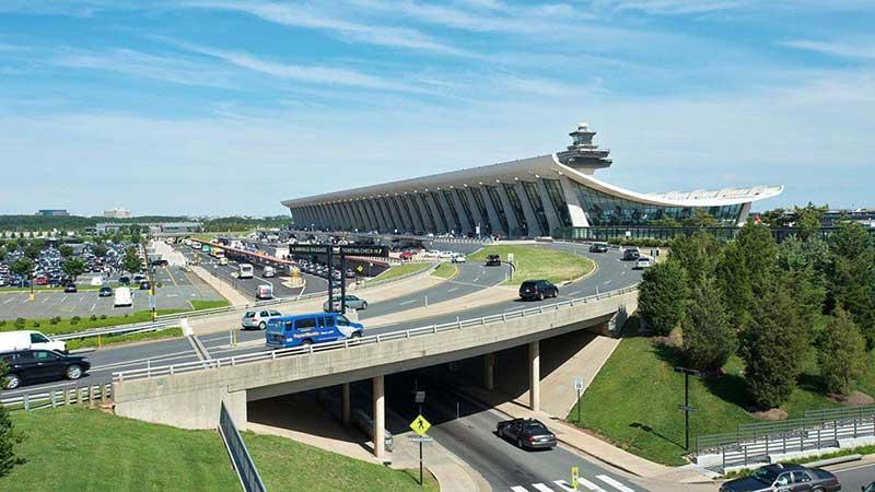 معرفی کامل فرودگاه بین المللی دالس در واشنگتن دی سی