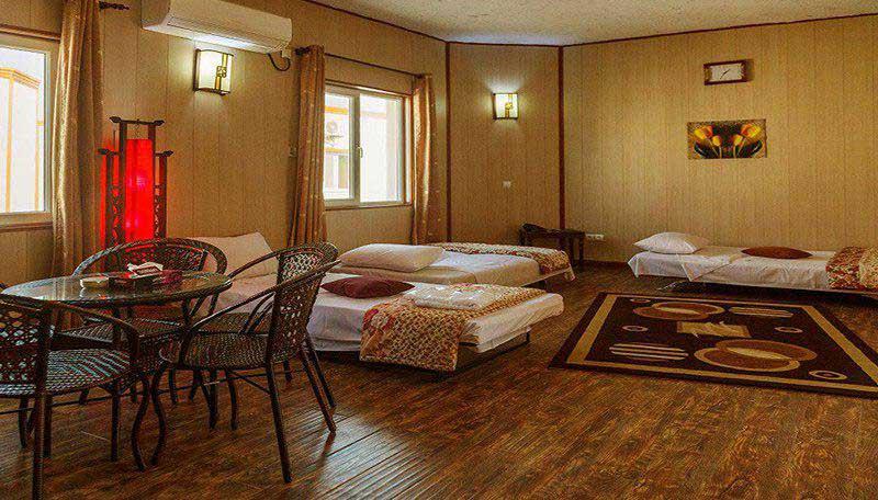 رزرو آنلاین هتل 4 ستاره ی ساحلی خلیج فارس جزیره ی قشم