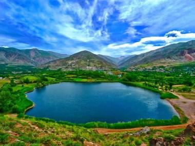 دریاچهی اوان یکی از زیباترین مناظر طبیعی با خرید بلیط قطار قزوین