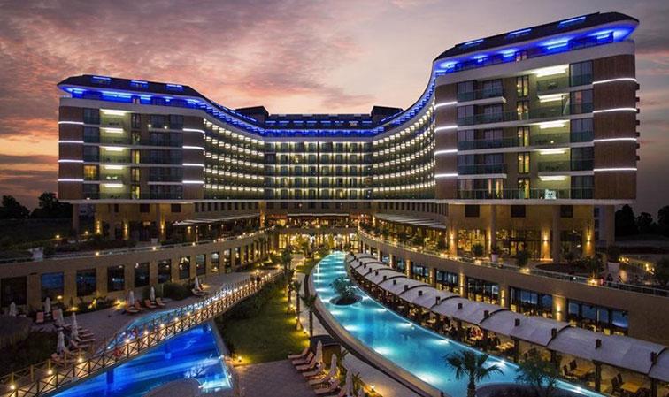 معرفی برترین گزینه ها برای رزرو هتل های 5 ستاره ی آنتالیا