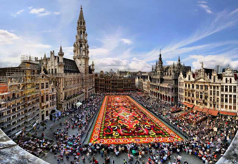 راهنمای خرید بلیط هواپیما بروکسل پایتخت کشور بلژیک