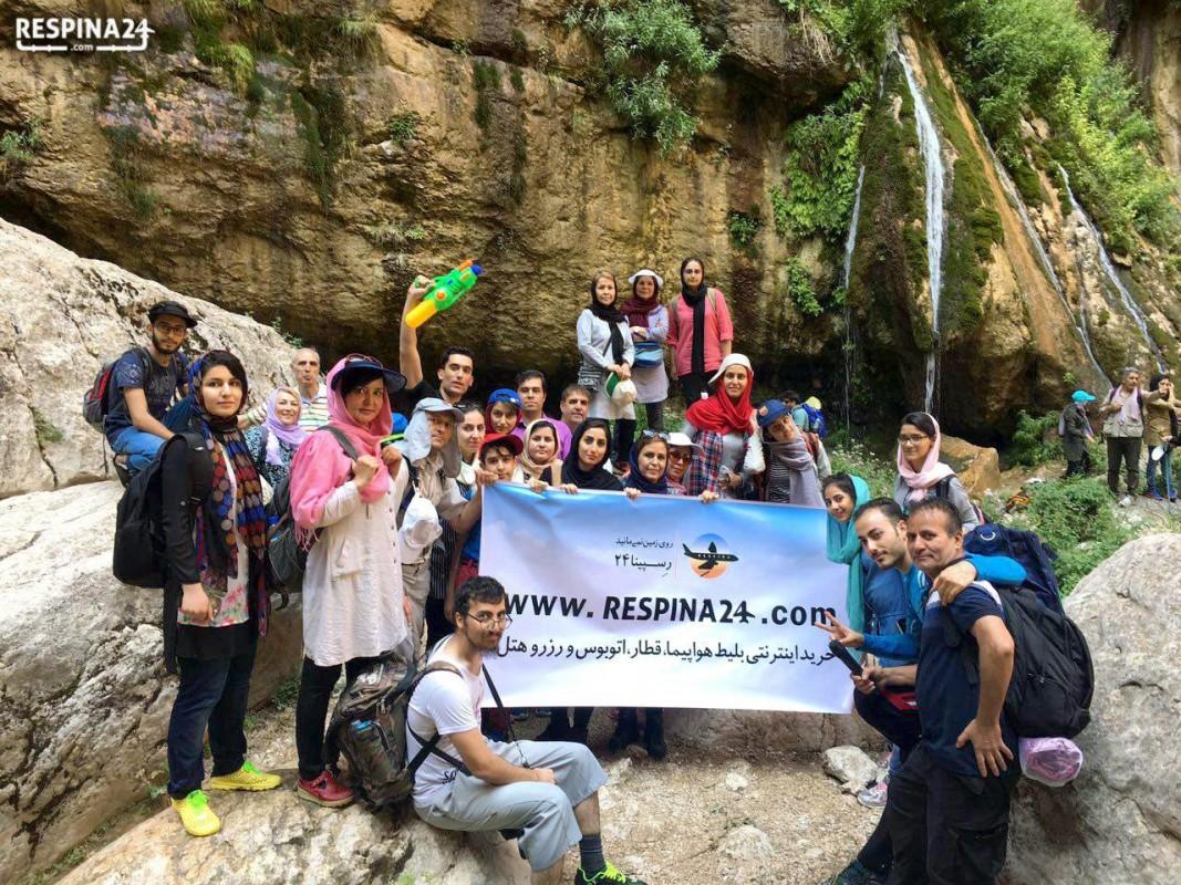 تور یک روزه مشهد؛ منطقه گردشگری اخلمد و آبشار معروفش