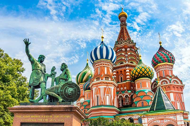 جاذبه های گردشگری که با خرید بلیط هواپیما مسکو باید دید
