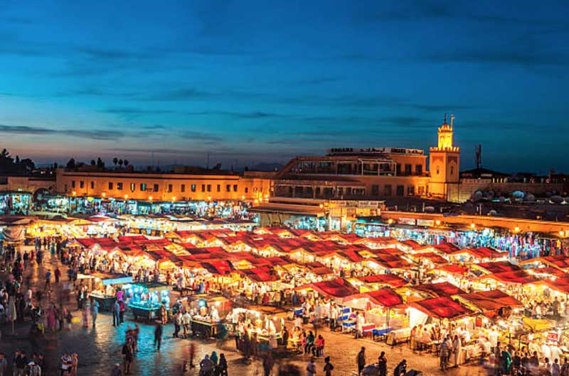 تلفیق حیرت انگیز تمدن و مذهب در توریستی ترین شهرهای مراکش