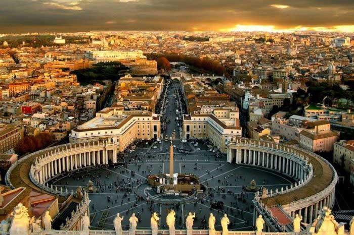 خرید بلیط هواپیما واتیکان کوچکترین کشور جهان در دل ایتالیا