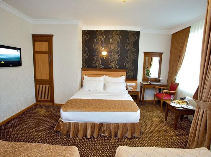 رزرو هتل 4 ستاره ی گرند اونال Grand unal استانبول