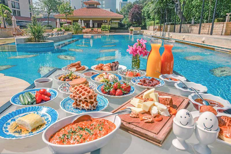 رزرو هتل پنج ستاره ی گرند حیات grand hyatt استانبول