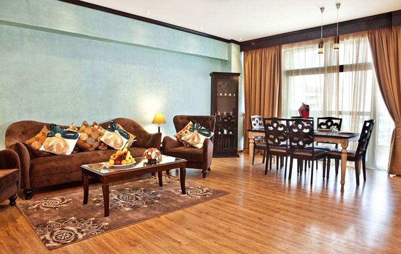 رزرو هتل 4 ستاره ی جواهر گاردنز Jawahara Gardens دبی