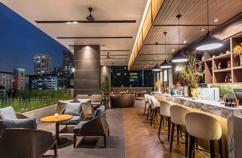 رزرو هتل 5 ستاره ی کامپس اسکای ویو compass skyview بانکوک