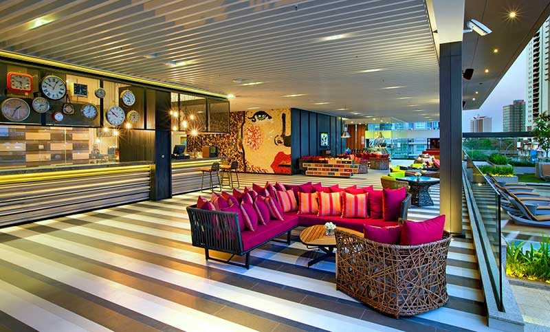 رزرو هتل 5 ستاره ی هیلتون دابل تری Hilton Duble Tree بانکوک