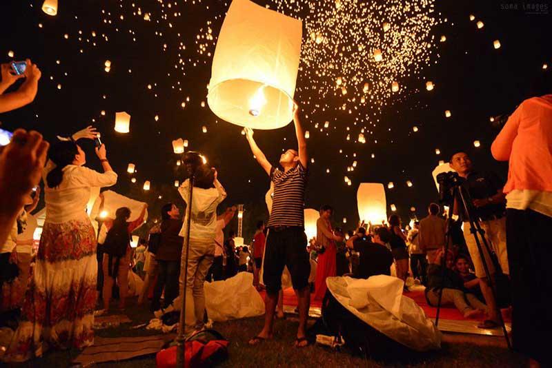 آبان ماه، فرصتی برای شرکت در جشنواره رویایی فانوس های تایلند