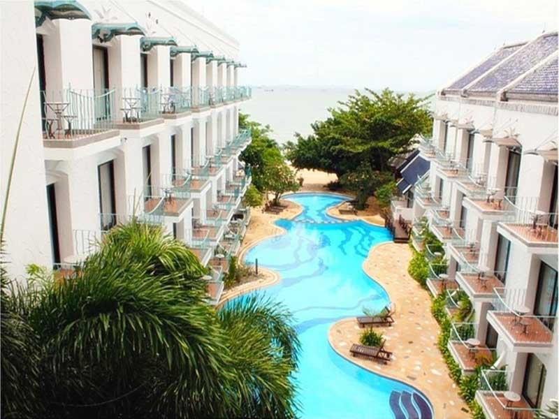 رزرو آنلاین هتل3 ستاره Naklua Beach Resort پاتایا