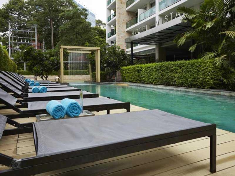 آشنایی با امکانات و رزرو هتل 4 ستاره ی ویستا Vista پاتایا