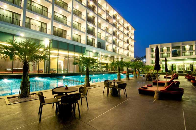 معرفی امکانات و رزرو هتل 4 ستاره ی ساحلی وِی way پاتایا