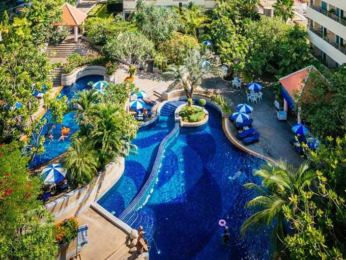 رزرو هتل 4 ستاره ی رویال پارادایس Royal Paradise پوکت