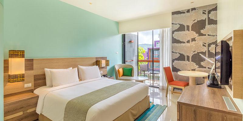 رزرو هتل 4 ستاره ی هالیدی این اکسپرس Holiday inn express پوکت