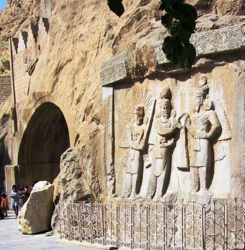 5 اثر باستانی کرمانشاه در زلزله ی غرب کشور دچار آسیب شدن