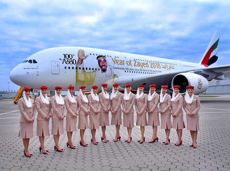 آشنایی با امکانات و خرید بلیط هواپیما ایرلاین امارات