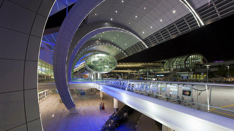 آشنایی با امکانات و ویژگی های فرودگاه بین المللی دبی