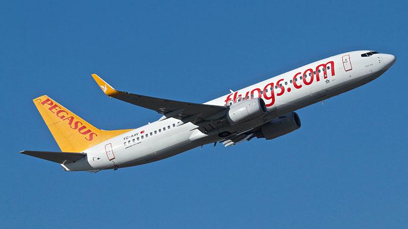 همه چیز راجع به خرید بلیط هواپیما شرکت هواپیمایی پگاسوس