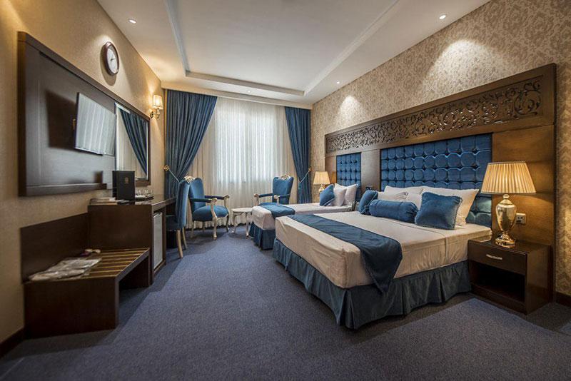 آشنایی با امکانات و رزرو آنلاین هتل 4 ستاره الماس نوین مشهد