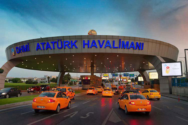 معرفی فرودگاه بین المللی آتاتورک و خرید بلیط هواپیما استانبول