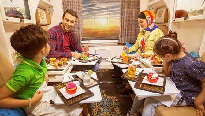 خرید بلیط قطار تهران مشهد