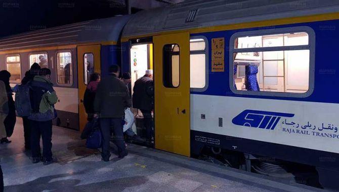 قیمت بلیط قطار مشهد تبریز