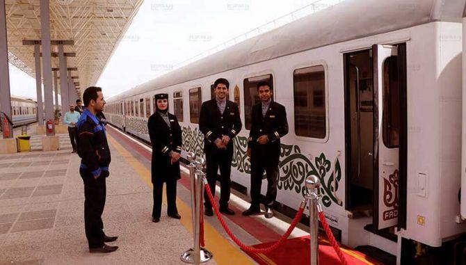 بلیط ارزان قطار کرج مشهد