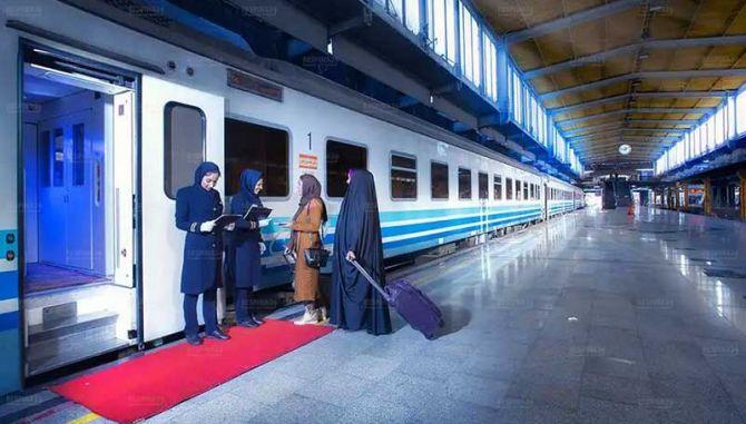 رزرو بلیط قطار کرج مشهد