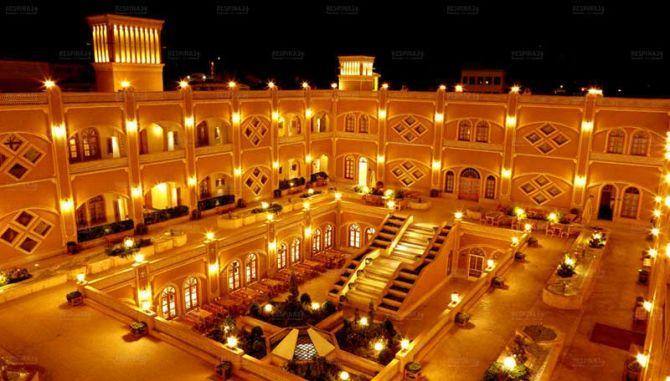 تور یزد از مشهد - رسپینا 24