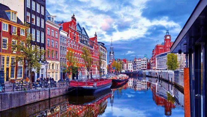 ارزان ترین پرواز آمستردام