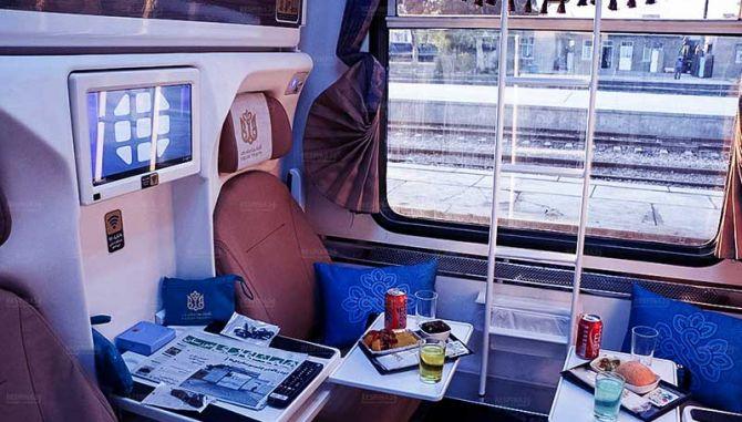بلیط قطار خرمشهر تهران