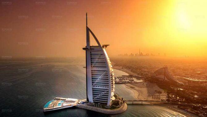 تور دبی از مشهد - رسپینا24